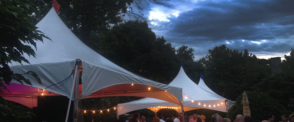 Back Yard Party Tent Rental