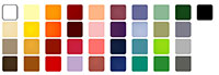color swatch chart